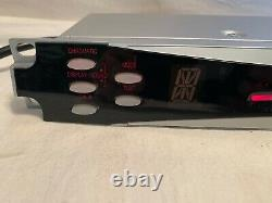 19 Rack Mount KORG Guitar Bass Digital TUNER DTR-2000 + Power cord WORKS