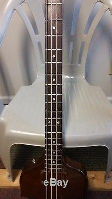 1955 Gibson EB-1 Headstock Repair But Great Condition New Tuners and Bridge