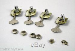 1958-1965 Fender Precision Or Jazz Bass Guitar Tuners USA Pre Cbs 1959 Keys