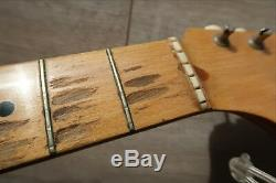 1958 Fender Musicmaster Maple Neck'58 Vintage Kluson Tuners Nut String tree