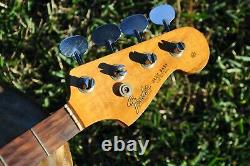 1965 Vintage Fender Jazz Bass Guitar ROSEWOOD NECK withTuners 1960s JBass Original