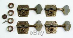 1966 Fender Precision Bass Reverse Tuners Vintage Jazz American 1965 1964 1963