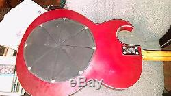 1967 Vox Apollo bass guitar active bass treble built in fuzz and tuner! A Gem