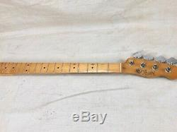 1968 Fender Telecaster Bass Guitar Neck with Original Tuners 1960's Vintage USA