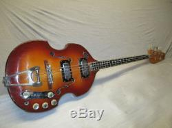 1969 Vox Violin Bass Built In Effects Distortion Booster -tuner