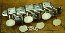 1969 Vintage RARE New Old Stock Kluson Double Line 3x3 Guitar Tuners Orig Box