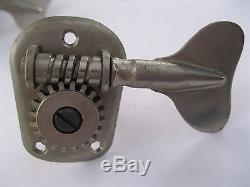 1970's Fender Musicmaster Bass Tuners Keys Machines Original Vintage