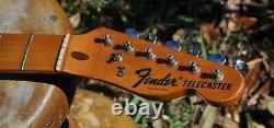 1972 Vintage Fender Telecaster Maple NECK withTuners MINTY 1970s TELE Original