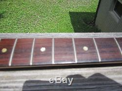 1978 Music Master Bass Neck with tuners- tuner ferrules-string guide Made in USA
