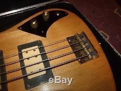 1980 Schecter USA Bass Guitar S/N B0150 paf dimarzios brazil board rvrse tuners