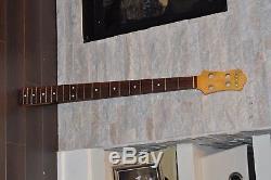 1983 Ibanez RB820 Roadstar II Bass Guitar Neck Japan No Velve Tuners