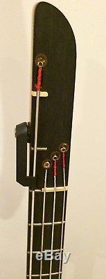 1990 Kubicki Ex Factor 4 Bass with Drop Tuner (Dark Purple Burst)