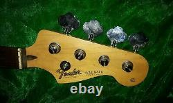1991 Vintage Korea Squier Jazz Bass Guitar Neck And Tuners Grab A Bargain