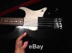1991 Yamaha Attitude DELUXE Bass Guitar Withcase-RARE