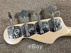 1997 Fender Jazz J Bass Standard, Bartolinis, Reverse Tuners, HD Bridge, Maple