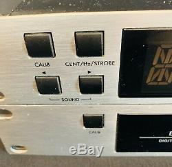 2 Korg Tone Works (dtr-2 & Dtr-1) Digital Chromatic Guitar Bass Tuners