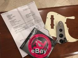2001 Fender USA American Jazz V Bass Five String 5 InLine Tuners, Hot Mods, Case
