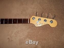 2004 Fender American Deluxe Jazz Bass NECK with TUNERS 4 String Right Hand USA