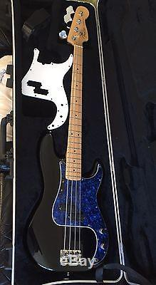 2008 Fender American Standard Precision Bass with Bartolini PU & Hipshot D-tuner