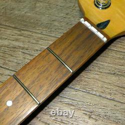 2009 Squier Fender Jazz Bass STANDARD Flamed Maple Neck + Tuners SAMEDAYSHIPPING