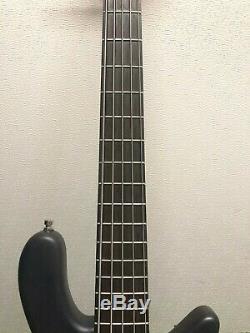 2011 Warwick Streamer 5-String Bass Guitar, Nirvana Black, Germany Tuners