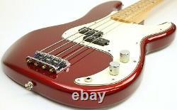 2013 Fender Standard Precision Bass Hipshot D-Tuner Candy Apple Red MX13358194