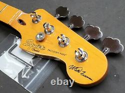 2015 Squier / Fender Matt Freeman P Bass Maple NECK + TUNERS Precision Guitar