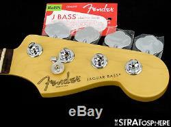 2016 Fender American Standard Jaguar BASS NECK & TUNERS USA Bass Guitar Rosewood