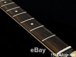 2016 Fender Deluxe JAZZ BASS NECK & TUNERS J Bass Guitar Rosewood BIG SALE