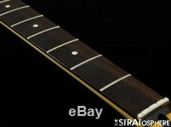 2016 Fender Standard Jaguar BASS NECK & TUNERS Bass Guitar 9.5 Radius Rosewood