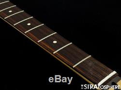 2017 Fender Standard Jaguar BASS NECK & TUNERS Bass Guitar 9.5 Radius Rosewood