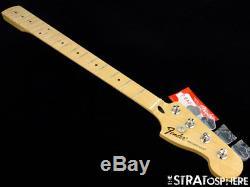 2017 Fender Standard Precision P BASS NECK & TUNERS Bass Guitar Parts Maple
