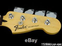 2017 Fender Standard Precision P BASS NECK & TUNERS Bass Guitar Parts Rosewood