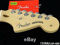 2018 Fender American Professional Jaguar NECK & TUNERS USA Deep C Maple