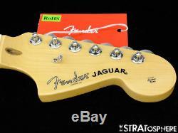 2018 Fender American Professional Jaguar NECK+ TUNERS USA Guitar Deep C Maple