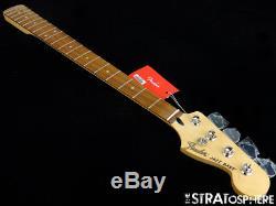 2018 Fender Deluxe JAZZ BASS NECK & TUNERS J Bass Guitar Pau Ferro BIG SALE