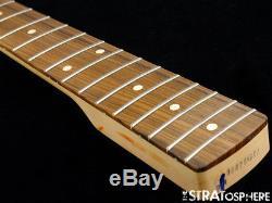 2018 Fender Mustang PJ Bass NECK + TUNERS Bass Guitar 30 Scale Pau Ferro