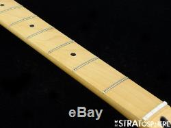 2018 Fender Player Jazz BASS NECK & TUNERS Bass Guitar Parts Modern C Maple