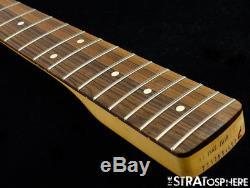 2018 Fender Player Jazz BASS NECK & TUNERS Bass Guitar Parts Modern C Pau Ferro