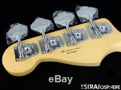2018 Fender Player Jazz BASS NECK & TUNERS Bass Guitar Parts, Modern C Pau Ferro
