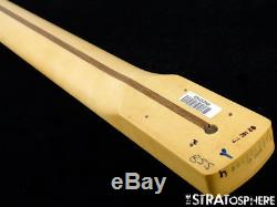 2018 Fender Player Precision P BASS NECK & TUNERS Bass Guitar Parts Maple