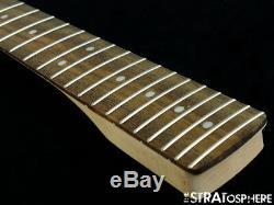 2018 Fender Squier Deluxe Stratocaster Strat NECK & TUNERS Guitar Parts Modern C