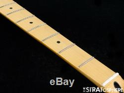 2018 Fender Standard JAZZ BASS NECK & TUNERS Bass Guitar 9.5 Radius Maple