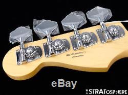2018 Fender Standard JAZZ BASS NECK & TUNERS J Bass Guitar Parts Maple