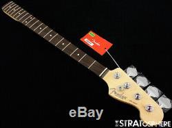 2019 Fender American Professional Jazz Bass NECK+ TUNERS 9.5 Slim C Rosewood