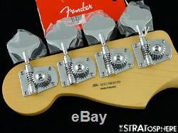 2019 Fender Player Jazz BASS FRETLESS NECK & TUNERS Bass Guitar Parts, Pau Ferro