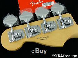 2019 Fender Player Jazz BASS NECK + TUNERS Bass Guitar Parts, Modern C Pau Ferro