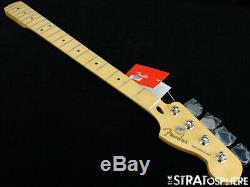 2019 Fender Player Precision P BASS NECK + TUNERS Bass Guitar Parts Maple