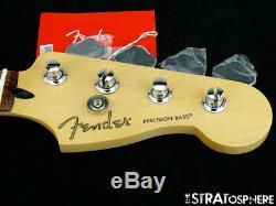 2019 Fender Player Precision P BASS NECK & TUNERS Bass Guitar Parts Pau Ferro