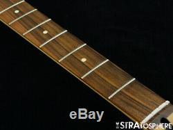 2019 Fender Player Precision P BASS NECK + TUNERS Bass Guitar Parts Pau Ferro